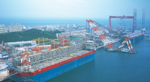 Featured image for post: Visit Korea, tour a shipyard