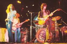 Led Zep, one of Younee's many inspirations