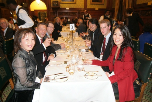 Table 7 in the House of Commons Members Dining Room