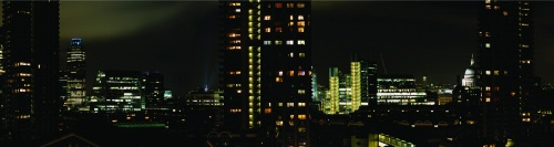 Seong-hee Jo: Barbican nightscape
