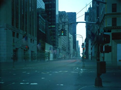 Atta Kim: ON-AIR Project, New York Series, 57th Street, 8 Hours (2005)