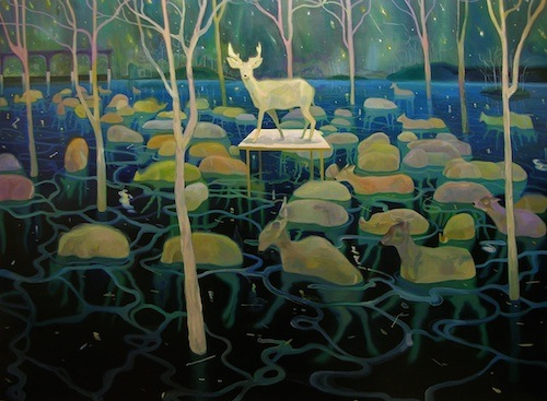 SANGYOON YOON | Protem | Oil on canvas | 200x160cm | 2009