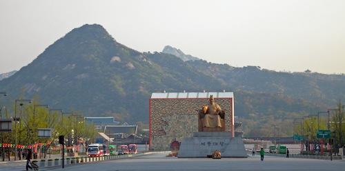 Gwanghwamun and Sejong