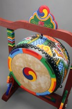 Temple drum