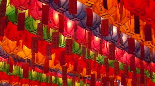 Jogyesa lanterns