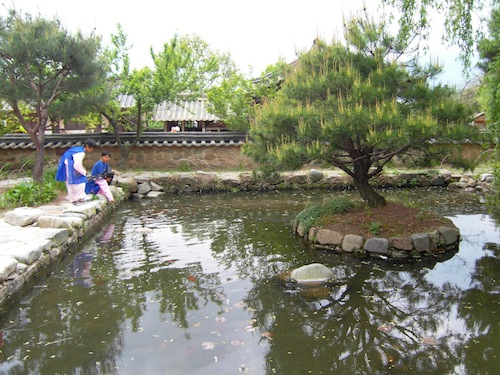 Fish Pond at the House of Choi Champan