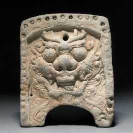 Silla Dynasty roof-tile
