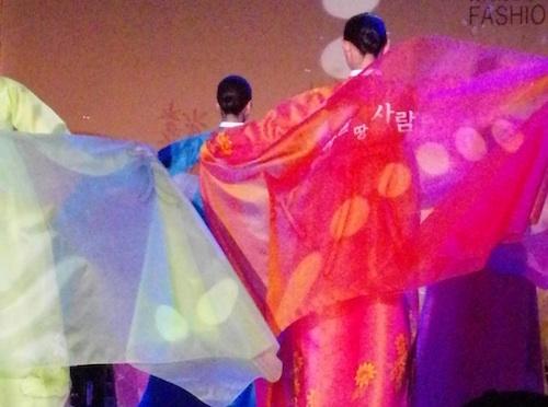 Hangeul fabric