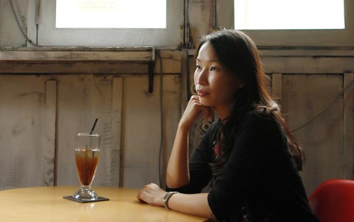 Tammy Chu, maker of the documentary Resilience