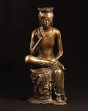 The original pensive bodhisattva in the National Museum of Korea