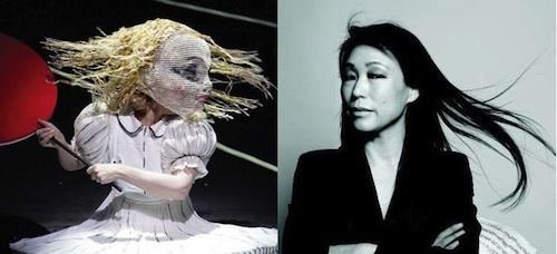 Unsuk Chin with her alter ego Alice