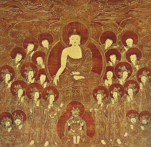 Shakyamuni and the Eight Great Bodhisattvas