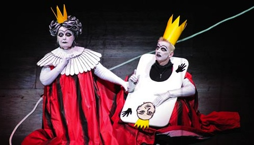 The Queen in the Bavarian production of Alice in Wonderland