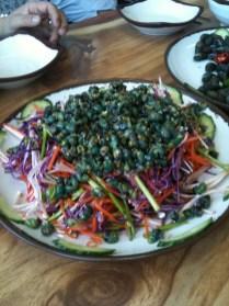 Daseulgi salad (undressed)