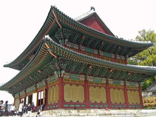 The Injeongjeon - the most important building in the Changdeokgung