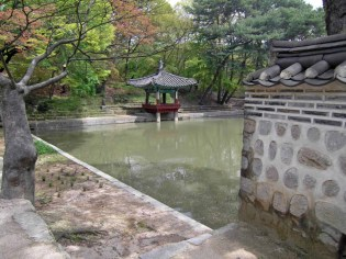 The Aeryeonjeong pavilion and Aeryeonji pond