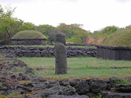 Jeju tombs echo the shape of the oreum