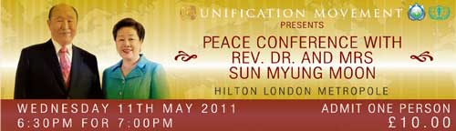 Featured image for post: Your last chance to meet Revd Sun Myung Moon in London?