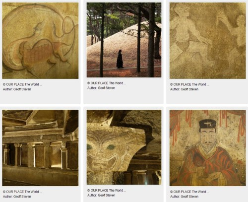UNESCO's gallery of images of the Complex of Goguryo Tombs, photos by Geoff Steven