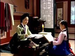 Lady Han and a young Jang Geum