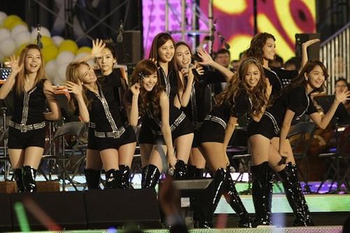 Girls Generation in Seoul
