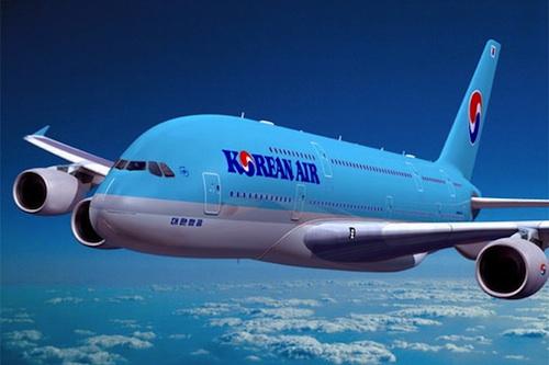 Korean Air's new Airbus A380