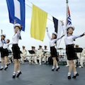 Thumbnail for post: DPRK Navy dancing girls greet Chinese dignitaries