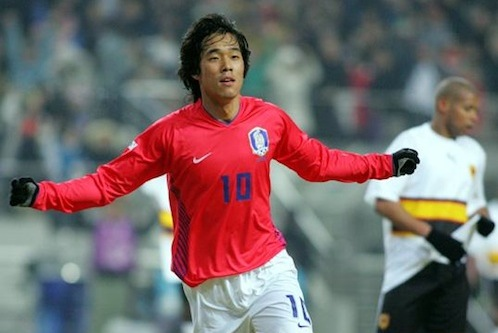 South Korean captain and recent Arsenal signing Park Chu-young