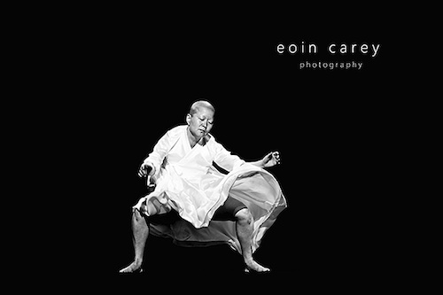 Ahn Eun-mi's opening solo. Photo by Eoin Carey