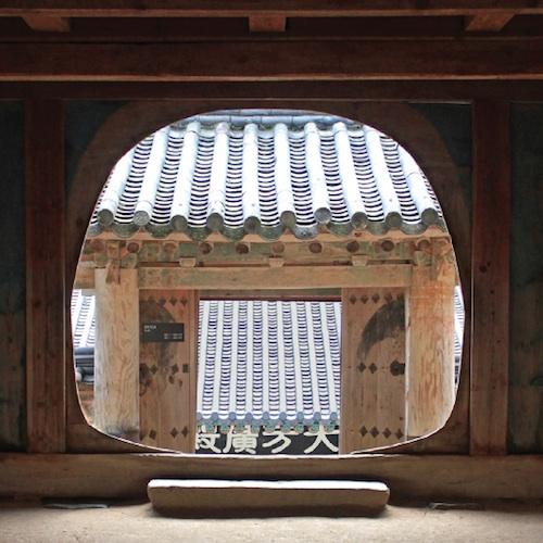 Haeinsa doorway