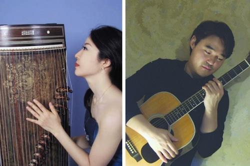 KAYA: Jung Ji-eun (gayageum) and Jeon Sung-min (guitar)