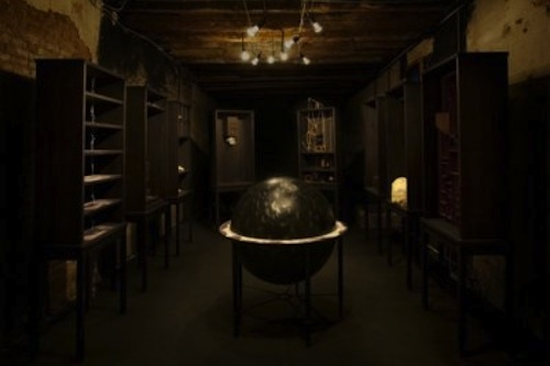 "Featured image for post: Woojung Chun's ""Library"" installed at England & Co"