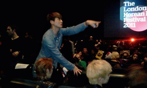 Shinee at the LKFF opening screening