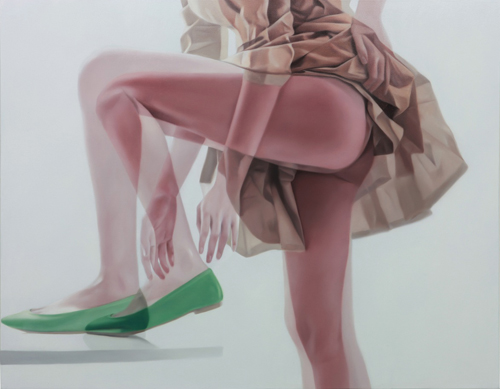 Horyon Lee: Overlapping Image S100510L | 116.8x91.0cm | Oil on canvas | 2010