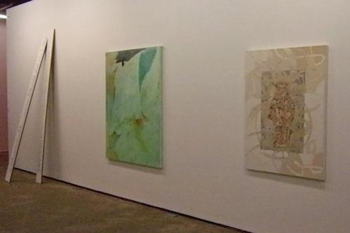 R to L: work by Kitty Jun-im McLaughlin, Joohee Chun and Bada Song