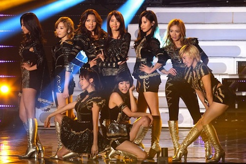 Featured image for post: Girl's Generation on David Letterman show