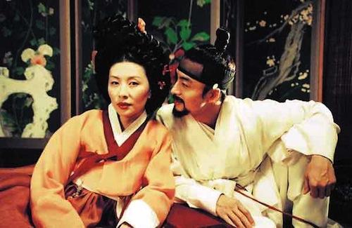 Lee Mi-sook and Bae Yong-joon in Untold Scandal