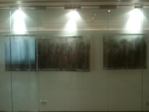 Lee Sunju's A Practiced Place display