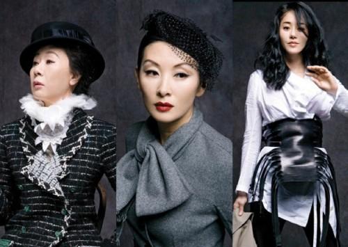 Yoon Yeo-jeong, Lee Mi-sook and Ko Hyeon-jeong