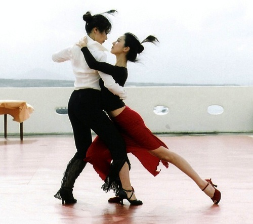 An imaginary tango for two