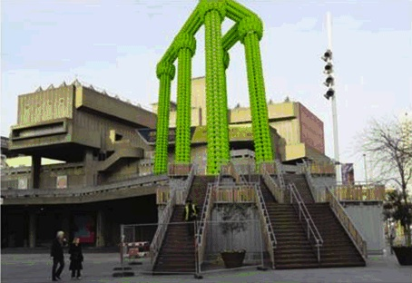 The original plan for Choi Jeong-hwa's Hayward Gallery project