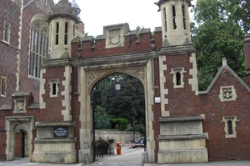 Lincoln's Inn: on the itinerary for Tuesday 8 May with the AKS