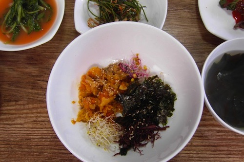 Featured image for post: Some regional foods in Tongyeong