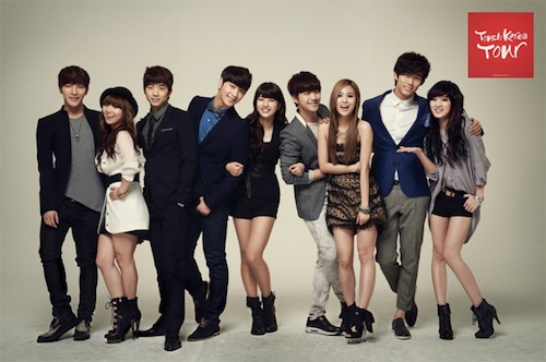 Touch Korea tour: Miss A and 2PM
