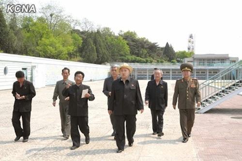 Kim Jong Un tours Mangyongdae Funfair
