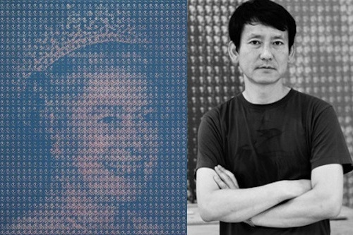 Kim Dong-yoo and his portrait of the Queen