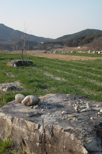 More of the dolmen in Teuk-ri