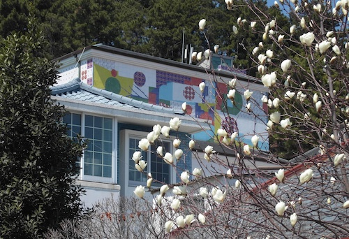 The exterior of the Jeon Hyuck-lim museum in Tongyeong