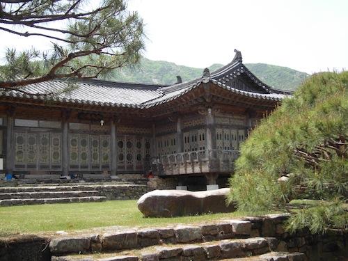 Min Young-ki's house in Sancheong-gun