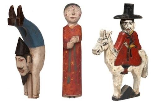 Korean Funerary Figures